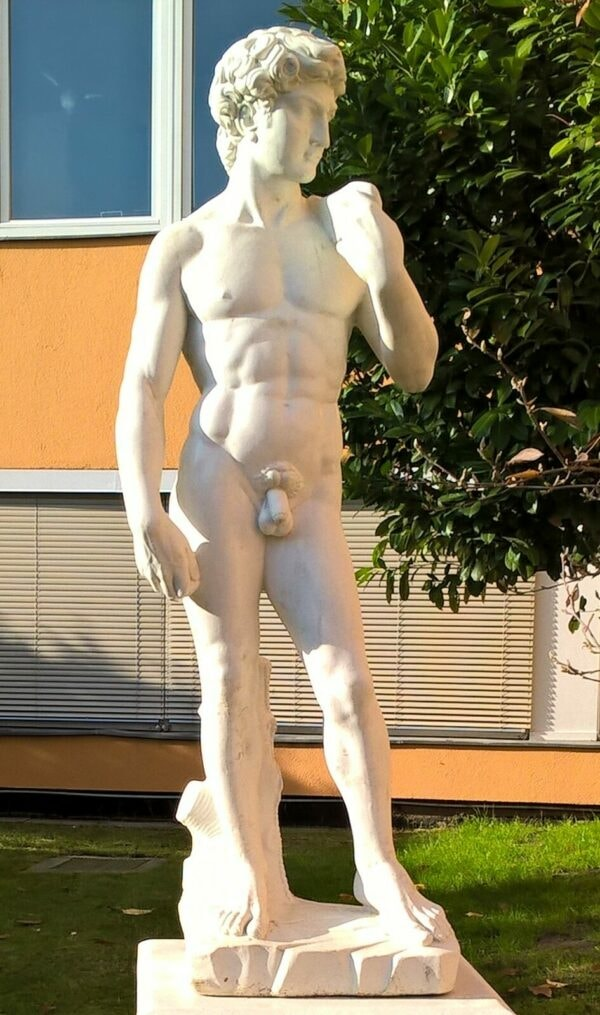 Statue David von Michelangelo