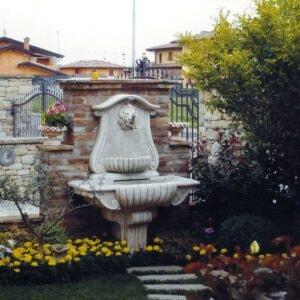 Wandbrunnen a Muro Palermo Art.963 Höhe 158/131cm