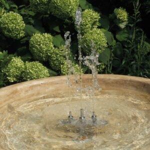 Springbrunnen mit Fontänen Tarquinia Art.2158 Gartenbrunnen Detailansicht