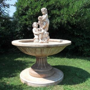 Springbrunnen mit Putten Pozzuoli Art.2223 Gartenbrunnen