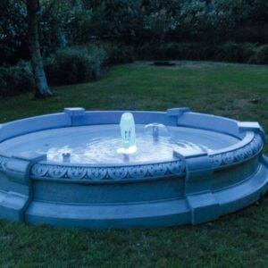 Springbrunnen Varese Art.2321 LED-Beleuchtung