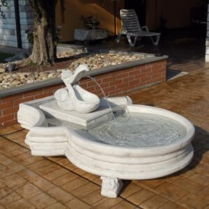Springbrunnen Pelikan Art.2187 Gartenbrunnen