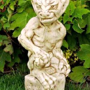 Figur Gorgoyle 1 Art.1500 - Gartendekoration mit Patina