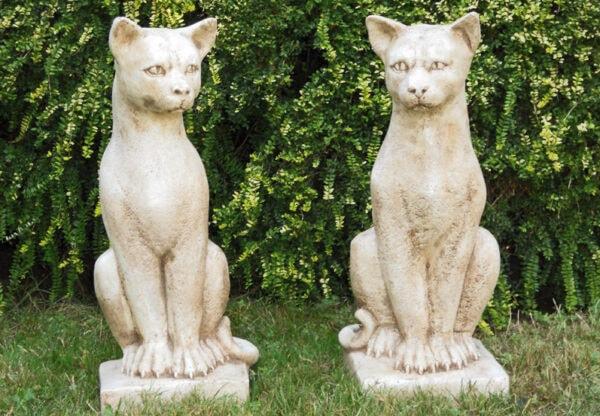 Tier Katze Gatti di Lucifero Art.1550 - Haus oder Gartendekoration