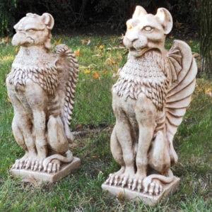 Tier Fabelwesen Grifoni Art.1551 - Gartendekoration