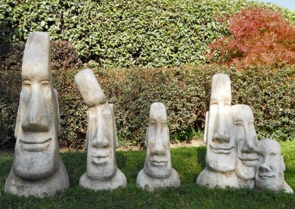 Statue Tribale Set - Gartendekorationen
