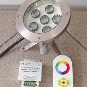 TRI LED 3in1 RGBW - Spot Art.2207