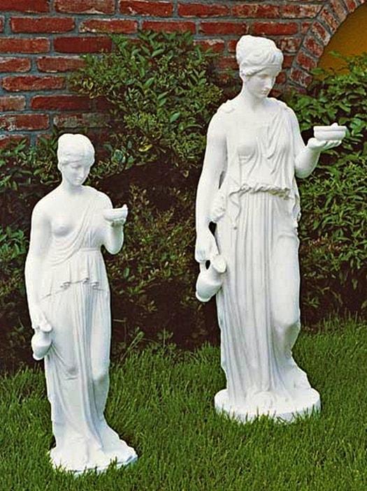 Statue Hebe Höhe 80 /  - 100cm Art.403