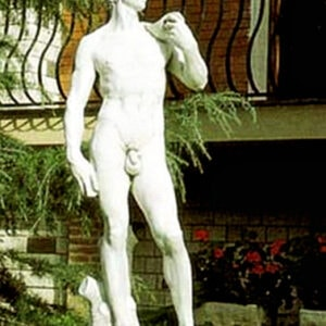 Statue David di Michelangelo klein Art.441