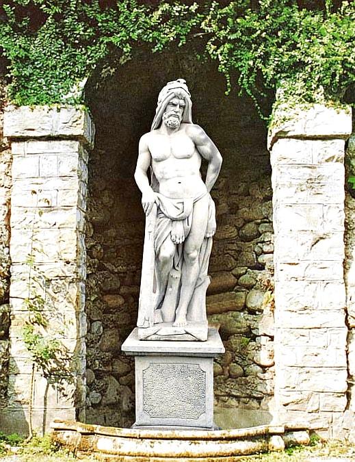 Statue Ercole Art.479 - klassische Steinstatue