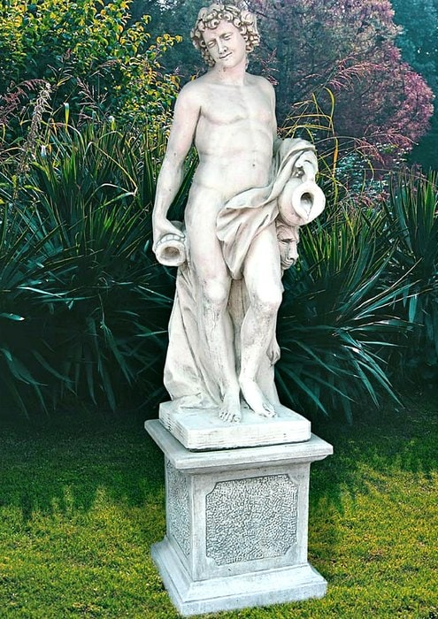 Statue Bacco Art.480 - klassische Gartendekoration