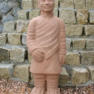 Figur Terracotta Krieger Art.540 Patina Terrakotta