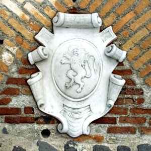 Relief Stemma con Leone Art.793