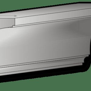 Gesimsaußenstuck für Fassade Art. G10A pro Meter