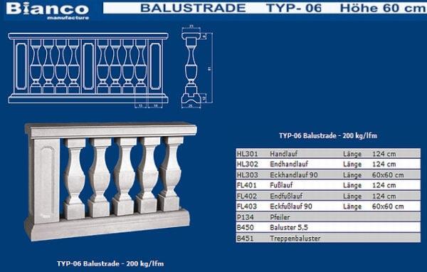 Balustrade Art.Typ6