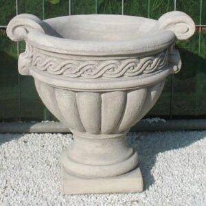 Vase Anfora mit Henkel