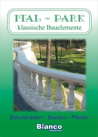 Titelbild Katalog Balustraden ITAL-PARK