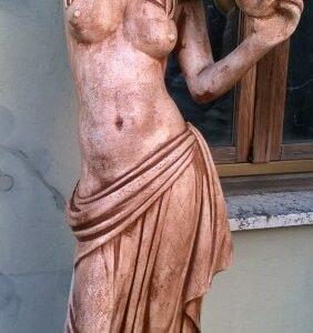 Statue Venus Canefore Patina TERRACOTTA