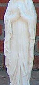 Statue Madonna Lourdes Art.571/F