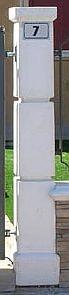 Säule Piantino G. Per Cancello Pedonale Art.807