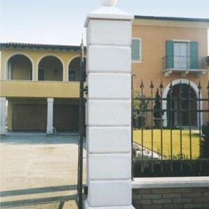 Pfeiler Pilastro Martellinato G. Art.815