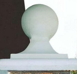 Abdeckplatte Capitello Con Sfera Maxi Art.963