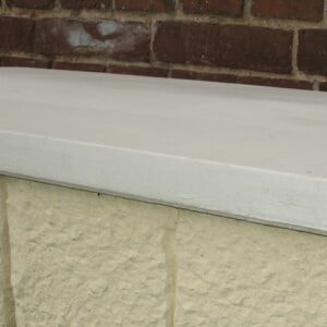 Mauerabdeckung mit Satteldach Maße: 50x80cm