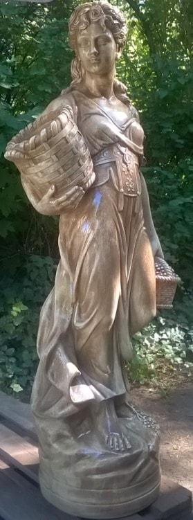 Statue Paesanella Gartenfigur Art.433 TUFO