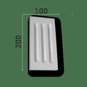 Außenstuck Zierelemente und Konsolen Art.DB11A Höhe: 10cm