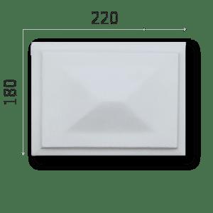 Außenstuck Zierelemente und Konsolen Art.DB14B Höhe: 22cm