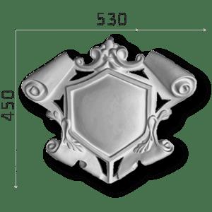 Außenstuck Zierelemente und Konsolen Art.DB2A Höhe: 45cm