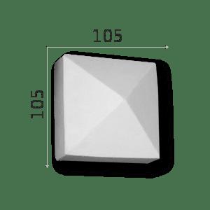 Außenstuck Zierelemente und Konsolen Art.DB7A Höhe: 10,5cm