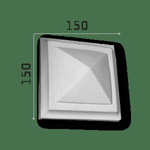 Außenstuck Zierelemente und Konsolen Art.DB8A Höhe: 15cm