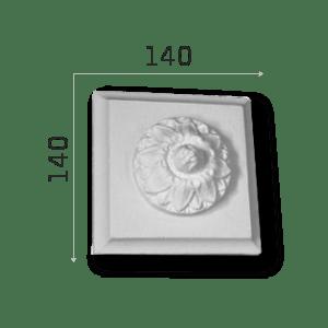 Außenstuck Zierelemente und Konsolen Art.DB9A Höhe: 14cm