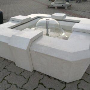 Springbrunnen Bilbao moderner Gartenbrunnen
