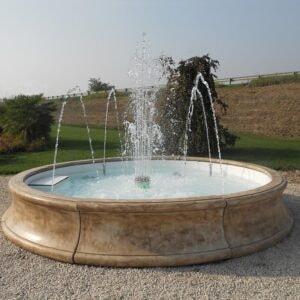 Springbrunnen Losanna Art.2382 Gartenbrunnen