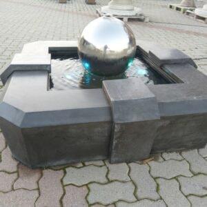 Springbrunnen Mercurio moderner Gartenbrunnen