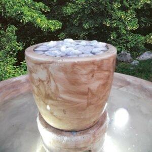 Springbrunnen Trog Vesuv Art.2160 Gartenbrunnen