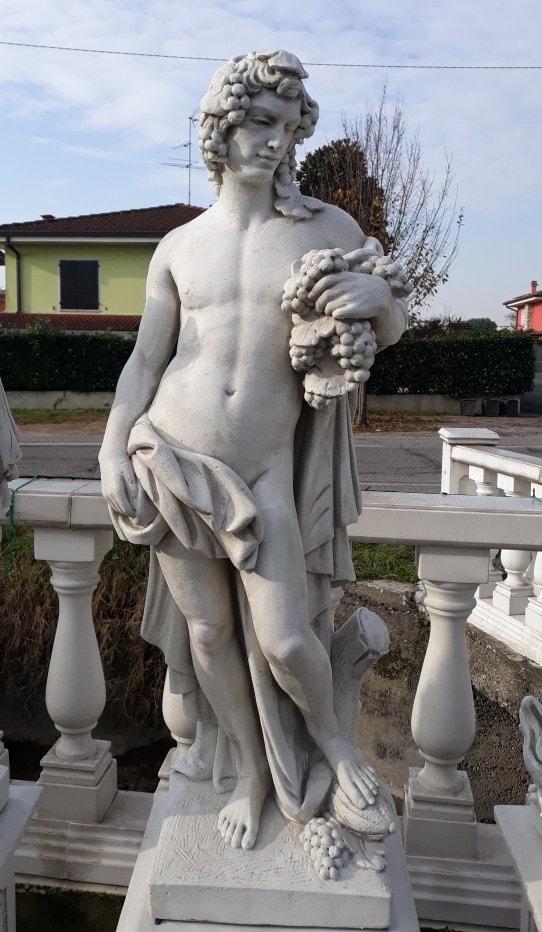 Statuen 4 Jahreszeiten Herbst 120 cm