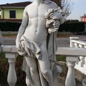 Statue 4 Jahreszeiten Herbst 130cm