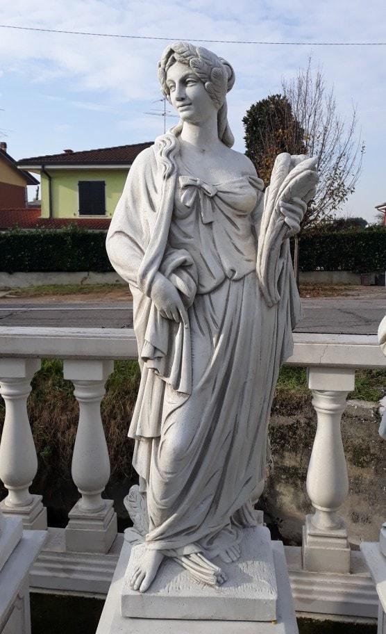 Statuen Serie 4 Jahreszeiten mit Sockel