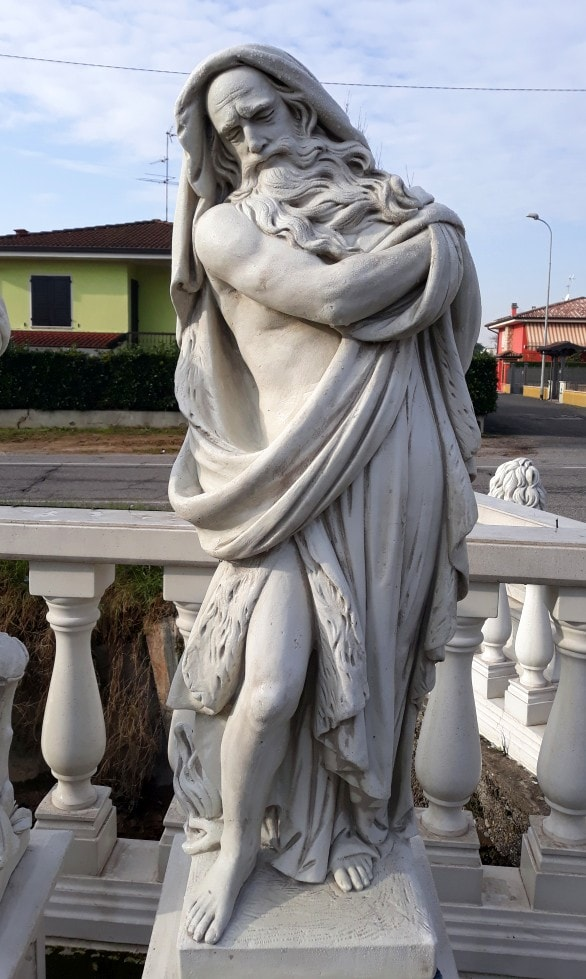 Statuen 4 Jahreszeiten Winter 120 cm