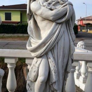 Statue 4 Jahreszeiten Winter 130 cm