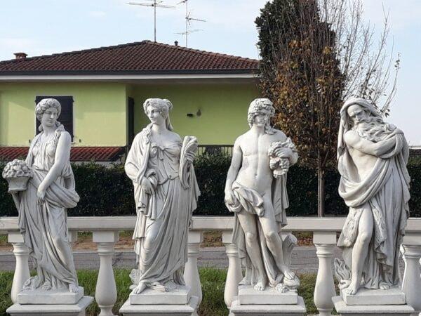 Statuen 4 Jahreszeiten Serie 120 cm