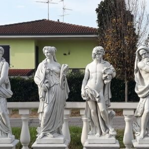 Statue 4 Jahreszeiten Serie 130cm
