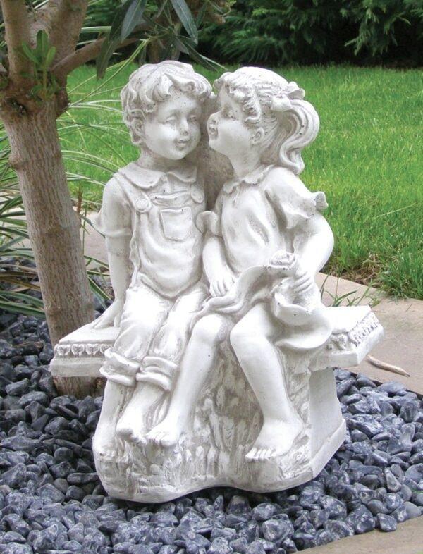 Putte Kinder sitzend Art.415