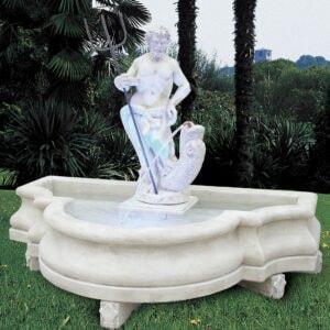 Springbrunnen Neptun Art.2103 Gartenbrunnen mit Neptun