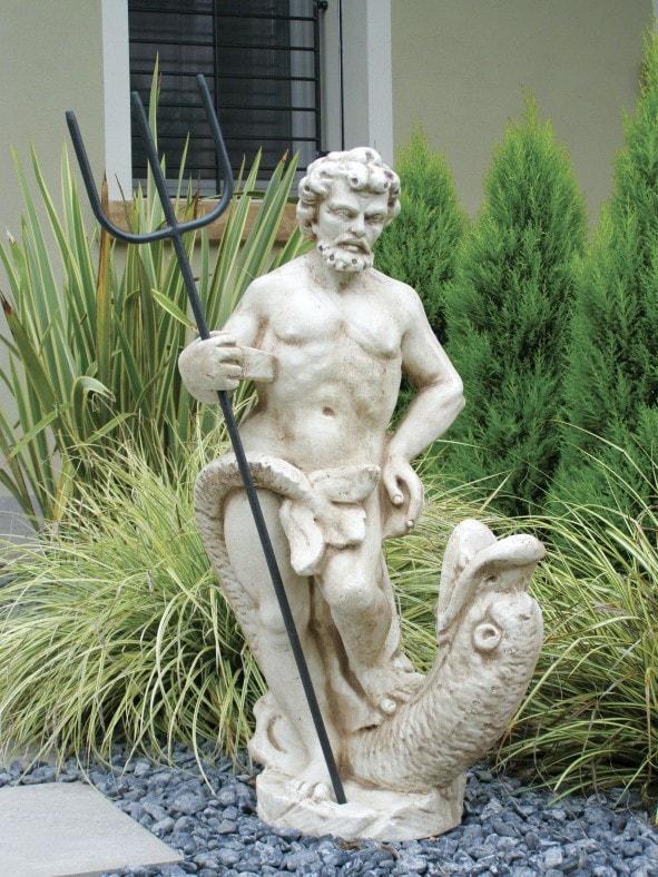 Statue Neptun mit Dreizack