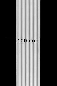 Pilaster kanneliert