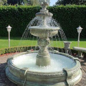 Springbrunnen Perugia Patina Verde